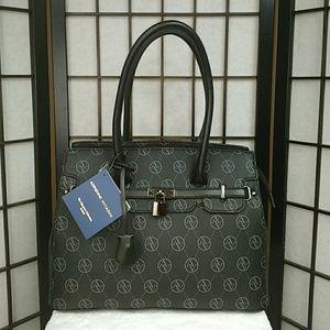 The Signature Collection Logo Satchel Handbag